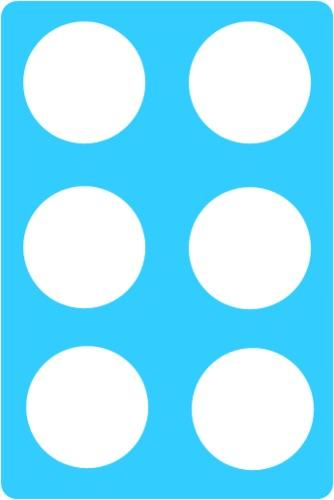 Bingo cards set of 6