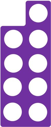 Numicon Flashcards Easy Notecards
