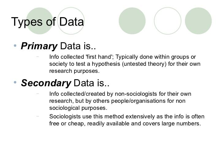 distinguish between primary data and secondary data Collected data may be classified as primary and secondary data in statistics primary and secondary data in statistics the difference between primary and secondary data in statistics is that primary data is collected firsthand by a researcher.