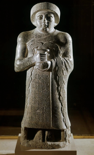 votive statue of gudea art essays