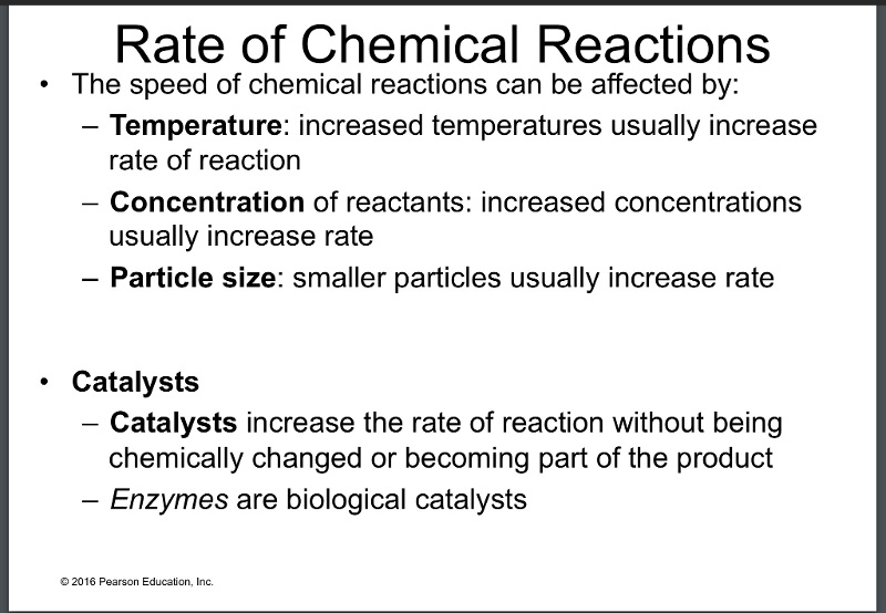 rates of chemical reaction1