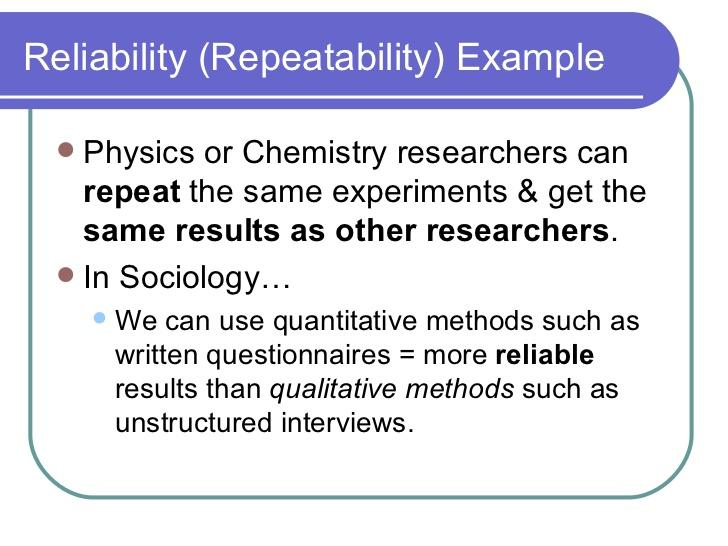 reliability in social research The rejection of reliability and validity in qualitative inquiry in the 1980s has resulted in an interesting shift for ensuring rigor from the investigator's actions during the course of the research, to the reader or consumer of qualitative inquiry.