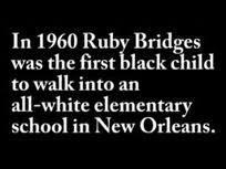 Ruby Bridges Quotes Classy Ruby Bridges Flashcards  Easy Notecards