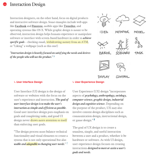 Interaction Design Flashcards Easy Notecards